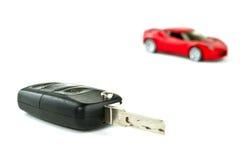 Clave al nuevo coche Imagen de archivo libre de regalías