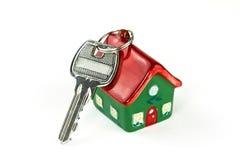 Clave al nuevo hogar Foto de archivo libre de regalías