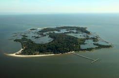 Clave cercano dominante del cedro de Atsena Otie, la Florida Foto de archivo