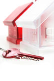 Clave de la casa Imagen de archivo libre de regalías