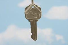 Clave de la casa Fotografía de archivo libre de regalías