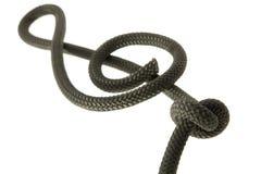 Clave de la cuerda Fotografía de archivo libre de regalías