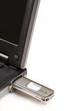 Clave de la memoria del USB fotos de archivo libres de regalías