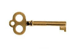 Clave de la vendimia del oro Foto de archivo
