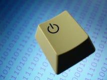 Clave de ordenador Foto de archivo libre de regalías