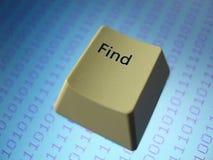 Clave de ordenador Imagen de archivo libre de regalías