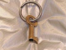 Clave de oro imagen de archivo