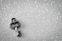 Clave de plata Imágenes de archivo libres de regalías