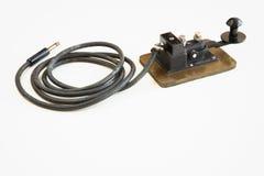 Clave de telégrafo fotografía de archivo libre de regalías