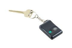 Clave del coche con el telecontrol Foto de archivo libre de regalías