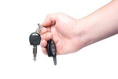 Clave del coche disponible. Foto de archivo