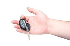 Clave del coche disponible. Imagen de archivo libre de regalías