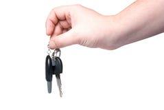 Clave del coche disponible. Imágenes de archivo libres de regalías