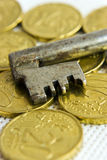 Clave del dinero Foto de archivo