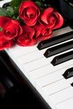 Clave del piano foto de archivo libre de regalías