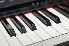 Clave del piano Fotos de archivo libres de regalías