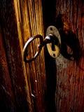 Clave en bloqueo Foto de archivo