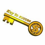Clave a los succes Foto de archivo libre de regalías