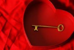 Clave a mi corazón Fotografía de archivo libre de regalías