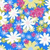 Clavel rosado y acianos azules Fotografía de archivo libre de regalías