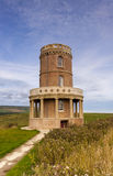 Clavell Tower on the Dorset Coastline stock photo