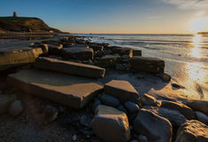 Clavell Tower at Kimmeridge Bay Royalty Free Stock Photography