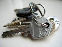 Claves Imágenes de archivo libres de regalías