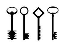 Claves. stock de ilustración