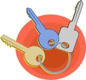 Claves stock de ilustración
