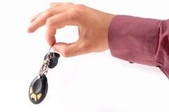 Claves autos Fotografía de archivo libre de regalías