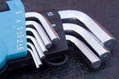 Claves de Allen del maleficio Imagen de archivo libre de regalías