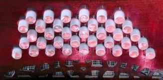 Claves de Bandoneon Imagenes de archivo