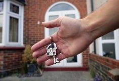 Claves de la casa Foto de archivo