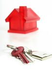 Claves de la casa Imagen de archivo libre de regalías