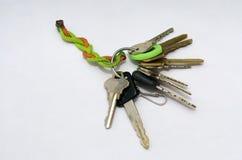 Claves de la casa Imagen de archivo