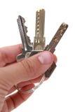 Claves de la seguridad Fotografía de archivo