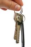 Claves de la seguridad Imágenes de archivo libres de regalías