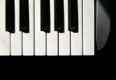 Claves de MIDI Fotos de archivo