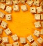 Claves de ordenador Fotos de archivo libres de regalías
