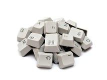 Claves de teclado de ordenador Fotos de archivo libres de regalías