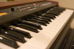 Claves del órgano de Hammond Imagen de archivo libre de regalías