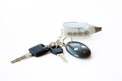 Claves del coche Foto de archivo