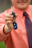Claves del coche Imagen de archivo libre de regalías