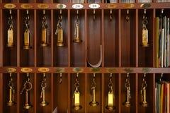 Claves del hotel Fotografía de archivo libre de regalías