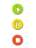 Claves del juego Foto de archivo