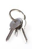 Claves del ligamento, anillo Fotografía de archivo