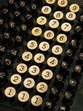 Claves del número Fotos de archivo libres de regalías