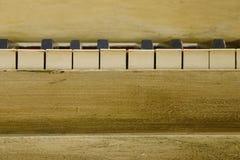 Claves del piano de la vendimia Imagen de archivo libre de regalías