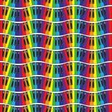Claves del piano Ilustración inconsútil del vector Fotografía de archivo