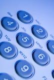 Claves del teléfono Foto de archivo libre de regalías